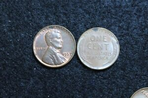 1957 CIRCULATED LINCOLN WHEAT CENT GOOD OR BETTER CONDITION