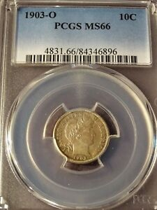 Click now to see the BUY IT NOW Price! 1903 O 10C   MS MS66 PCGS