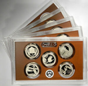 Click now to see the BUY IT NOW Price! 2015 ATB NATIONAL PARK QUARTERS 5 COIN CLAD PROOF SET   GROUP OF 5 SETS