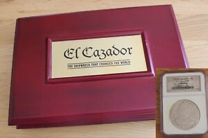 Click now to see the BUY IT NOW Price! EL CAZADOR PIECES OF EIGHT SHIPWRECK COIN 8 REALES NGC CERTIFIED. GIFT PRESENT