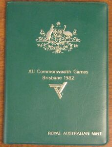 1982 ROYAL AUSTRALIAN MINT   XII COMMONWEALTH GAMES COMMEMORATIVE   6 COIN SET