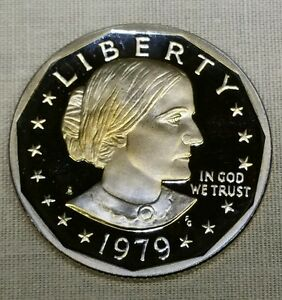 1979 S SBA$1 TYPE 1  PROOF  SUSAN B. ANTHONY DOLLAR