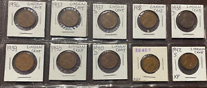 1972 2002 LINCOLN CENT MIXED LOT