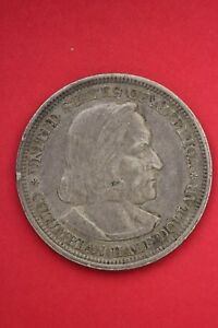 1893 COLUMBIAN EXPOSITION HALF DOLLAR EXACT COIN SHOWN FLAT RATE SHIPPING OCE141