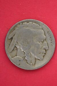 1917 P BUFFALO INDIAN NICKEL EXACT COIN PICTURED FLAT RATE SHIPPING OCE0010