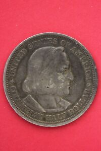 1893 COLUMBIAN EXPOSITION HALF DOLLAR EXACT COIN SHOWN FLAT RATE SHIPPING OCE182
