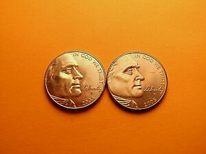 2005 P&D 5C WESTERN WATERS JEFFERSON NICKEL   LINCOLN CENT BONUS COIN READ BELOW