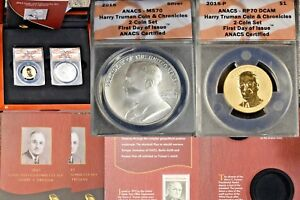 Click now to see the BUY IT NOW Price! 2015 HARRY TRUMAN COIN CHRONICLES SET >>>PCGS PR70 MS70 FIRST<<< POP 114