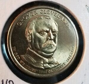 2012 D PRESIDENTIAL DOLLAR GROVER CLEVELAND FIRST TERM 22ND PRESIDENT
