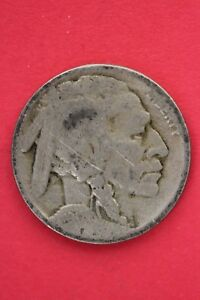 1917 P BUFFALO INDIAN NICKEL EXACT COIN PICTURED FLAT RATE SHIPPING OCE0032