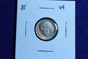 1964 P ROOSEVELT DIME CIRCULATED CONDITION NICE LUSTER 35