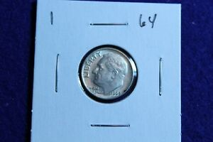1964 P ROOSEVELT DIME CIRCULATED CONDITION NICE LUSTER 1