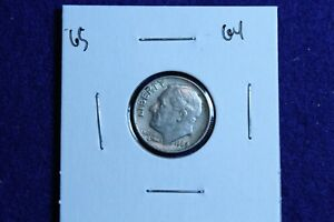 1964 P ROOSEVELT DIME CIRCULATED CONDITION NICE LUSTER 65