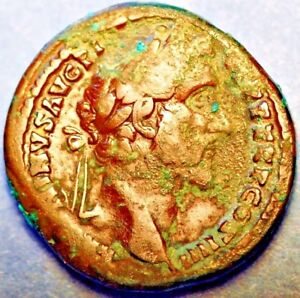 Click now to see the BUY IT NOW Price! 138 161 AD ROMAN EMPIRE. NGC VF .ANTONINUS PIUS. AE SESTERTIUS RV SECURITAS STD.