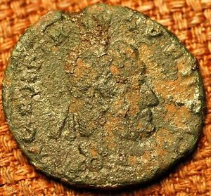 364   9 AUGUST 378 A.D.ROMAN ANCIENT BRONZE COIN.VALENSI 28 MARCH .