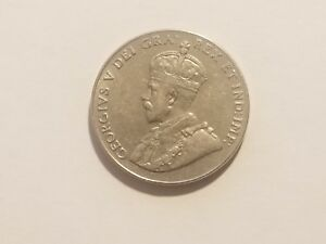 1927 CANADA 5 CENTS   GEORGE V  KM29   5 OR MORE COINS SHIP FREE