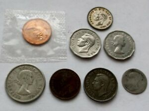 CANADA COIN LOT SOME SILVER