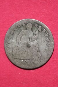 CULL 1857 P SEATED LIBERTY HALF DIME EXACT COIN SHOWN FLAT RATE SHIPPING OCE 198