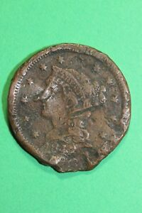 CULL DATELESS LARGE CENT EXACT COIN PICTURED FLAT RATE SHIPPING OCE85