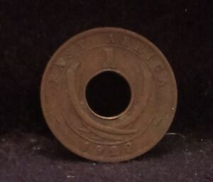 1922 BRITISH EAST AFRICA CENT ROYAL MINT FIRST YEAR OF MINTAGE KM 22