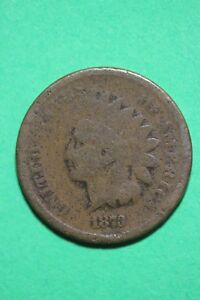 1873 INDIAN HEAD CENT PENNY BRONZE EXACT COIN PICTURED FLAT RATE SHIPPING OCE784