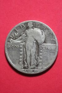 1929 D STANDING LIBERTY QUARTER EXACT COIN PICTURED FLAT RATE SHIPPING OCE546