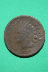 1865 INDIAN HEAD CENT PENNY BRONZE EXACT COIN PICTURED FLAT RATE SHIPPING OCE329