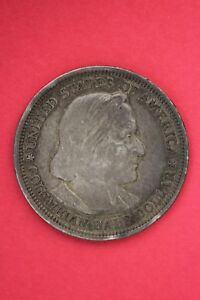1893 COLUMBIAN EXPOSITION HALF DOLLAR EXACT COIN SHOWN FLAT RATE SHIPPING OCE346