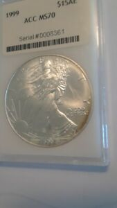Click now to see the BUY IT NOW Price! 1999 SILVER EAGLE $1 SILVER COIN LY
