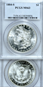 Click now to see the BUY IT NOW Price! 1884 S PCGS MS63 MORGAN DOLLAR $1