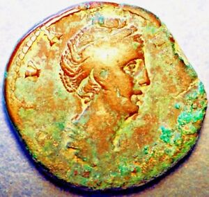 Click now to see the BUY IT NOW Price! 138 140/1AD ROMAN EMPIRE  NGC F. FAUSTINA SR. AE SESTERTIUS POSTHUMOUS ISSUE