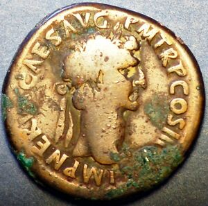 Click now to see the BUY IT NOW Price! 96 98 AD ROMAN EMPIRE. NGC VG CERTIFICATION. NERVA.AE SESTERTIUS RV FORTUNA STG