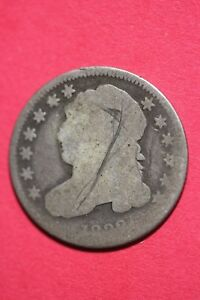 1833 ? CAPPED BUST DIME EXACT COIN PICTURED FLAT RATE SHIPPING OCE 084