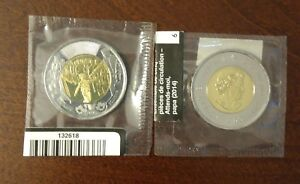 ONE UNCIRCULATED CANADA 2014 $2 COMMEMORATIVE COIN