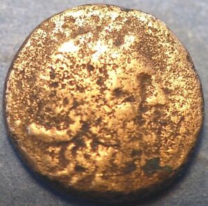 ANCIENT COIN ILYRIA AND CENTRAL GREECE APLONIA BRONZE
