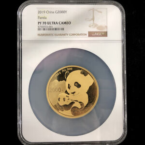 Click now to see the BUY IT NOW Price! 2019 CHINA PANDA FIRST RELEASES150G GOLD COIN G2000Y NGC PF70 ULTRA CAMEO