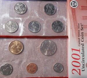 2001 DENVER MINT SET