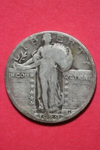 1929 P STANDING LIBERTY QUARTER EXACT COIN PICTURED FLAT RATE SHIPPING TOM 248