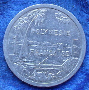 FRENCH POLYNESIA   1 FRANC 2003 KM 11 FRENCH OVERSEAS   EDELWEISS COINS