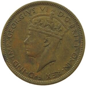 WEST AFRICA SHILLING 1943 QC 019