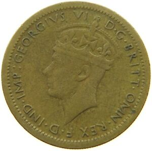 WEST AFRICA 6 PENCE 1945 QC 089