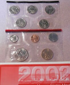 2002 DENVER MINT SET