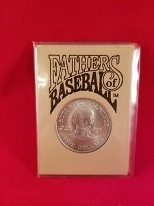 1992 FATHERS OF BASEBALL ALBERT SPALDING FIVE DOLLAR COMMEMORATIVE COIN