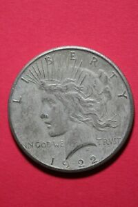 1922 S LIBERTY PEACE SILVER DOLLAR EXACT COIN SHOWN FLAT RATE SHIPPING TOM 100