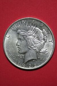 1922 P LIBERTY PEACE SILVER DOLLAR EXACT COIN SHOWN FLAT RATE SHIPPING TOM 352
