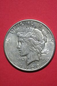 1923 S LIBERTY PEACE SILVER DOLLAR EXACT COIN SHOWN FLAT RATE SHIPPING TOM 355