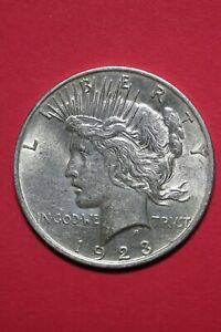 1923 P LIBERTY PEACE SILVER DOLLAR EXACT COIN SHOWN FLAT RATE SHIPPING TOM 340