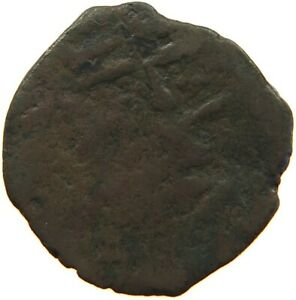 ARAB EMPIRES MEDIEVAL COPPER 23MM S9 315