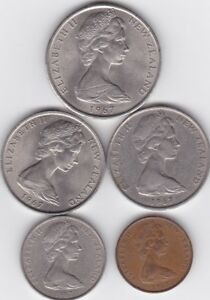NEW ZEALAND 1967 COINS