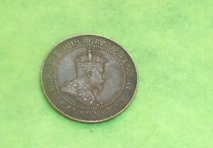CANADA 1909 LARGE CENT COIN NICER COIN